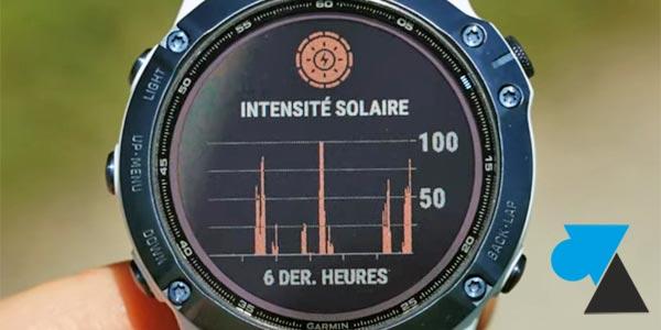 tutoriel presentation Garmin Solar montre GPS solaire