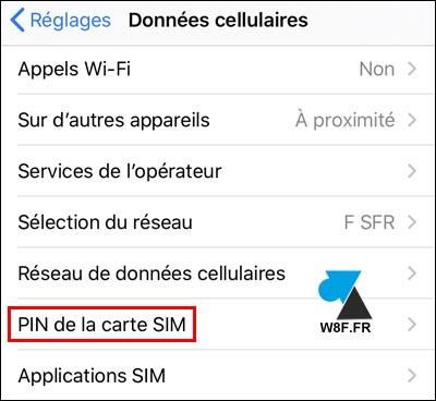 tutoriel iOS iPhone iPad changer code PIN