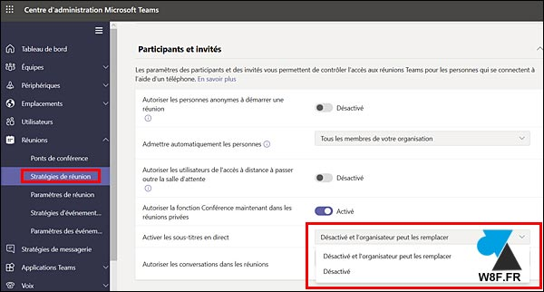tutoriel strategie de reunion Microsoft Teams