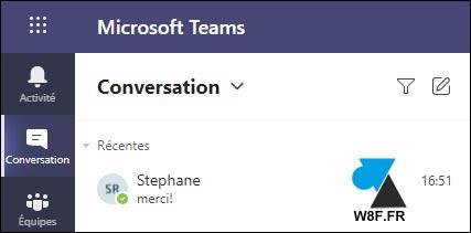 tutoriel Microsoft Teams web app online