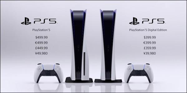 Sony PS5 PlayStation 5 prix