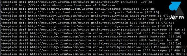 tutoriel Ubuntu apt update ok
