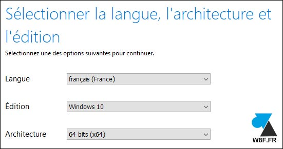 Windows 10 installation architecture tutoriel