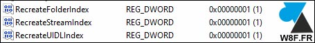 tutoriel regedit DWORD Windows Live Mail