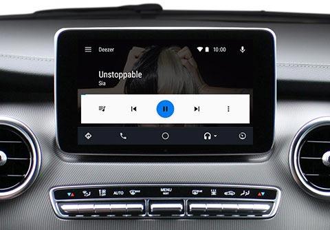 Deezer Android Auto Apple CarPlay
