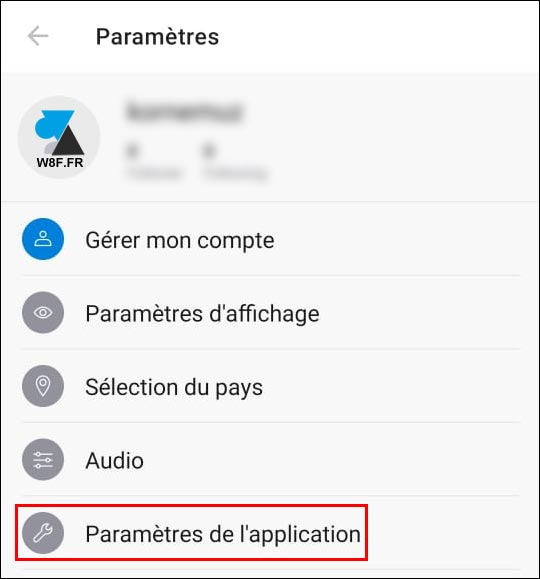 tutoriel Deezer parametres application