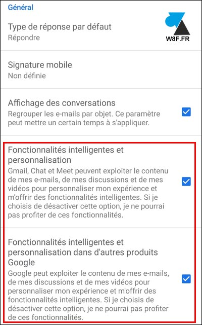 tutoriel Gmail fonctionnalités Android iPhone iPad iOS