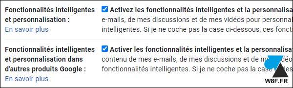 tutoriel Gmail activer fonctionnalités