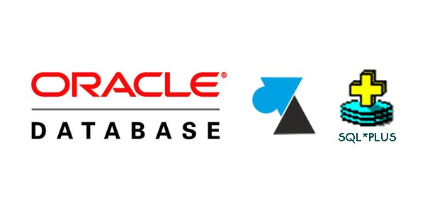 tutoriel sqlplus Oracle sql plus logo sgbd