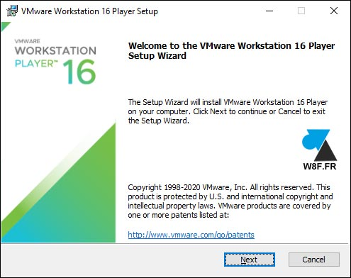 tutoriel installer VMware Workstation Player gratuit