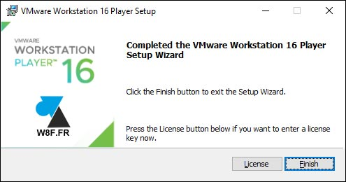 tutoriel installer VMware Workstation gratuit