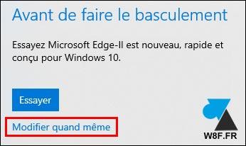 tutoriel Windows 10 changer navigateur web par défaut