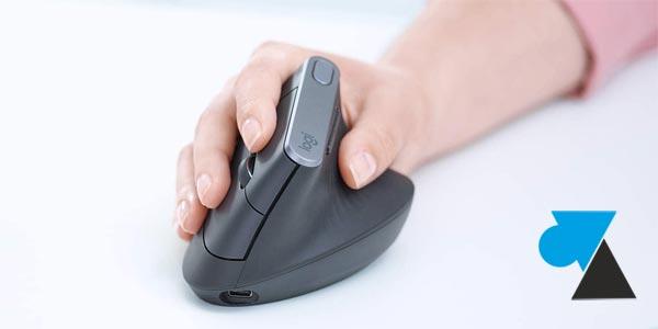 souris ergonomique Logitech