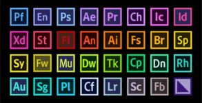 Adobe Creative Cloud logiciels logo