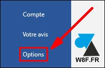 tutoriel options Word Microsoft Office