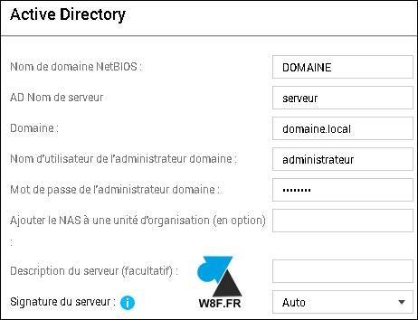 tutoriel NAS QNAP utilisateurs Active Directory AD