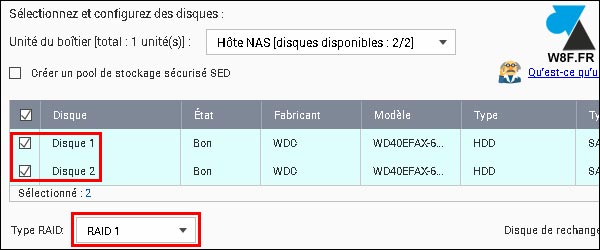 tutoriel NAS QNAP configurer pool disques raid