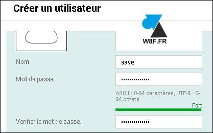 tutoriel NAS QNAP creer utilisateur create user