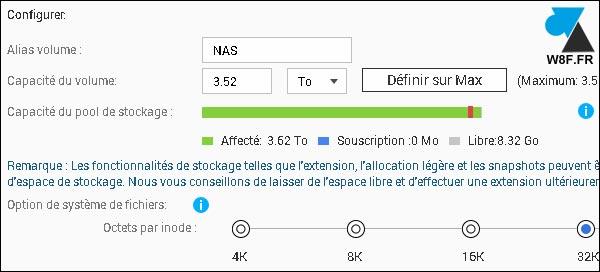 tutoriel NAS QNAP configurer ajouter volume RAID