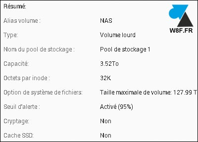 tutoriel NAS QNAP configurer creer volume RAID