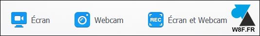 tutoriel videoproc enregistrer ecran webcam