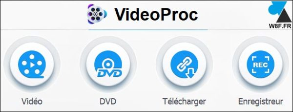tutoriel videoproc application facile