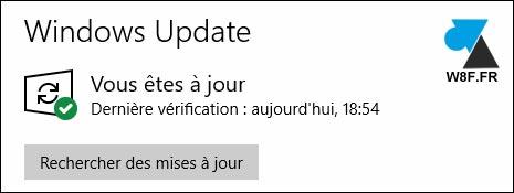 tutoriel Windows Update OK Windows 10