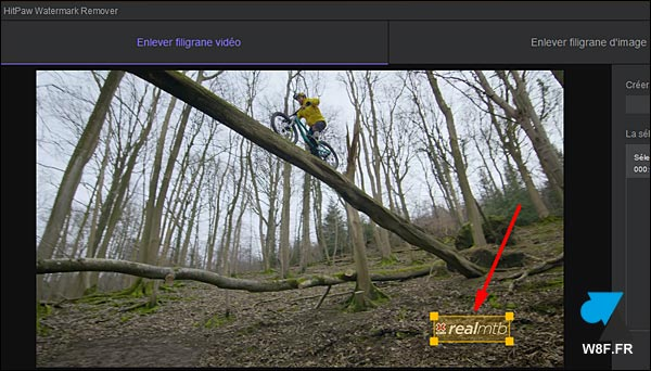 tutoriel HitPaw Watermark Remover