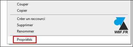 tutoriel ouvrir propriétés fichier dossier repertoire Windows 10