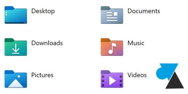 nouvelles icones Explorateur Windows 10