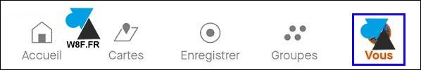 Strava application mobile profil sportif