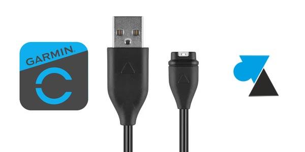 Acheter un câble chargeur pas cher pour Garmin Fenix, Forerunner et Vivoactive