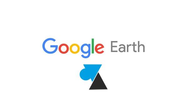 Google Earth Pro : personnaliser le fond de carte