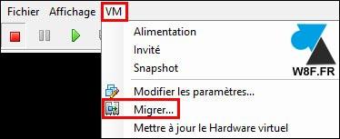 tutoriel VMware vSphere ESXi migrer datastore banque de données disque