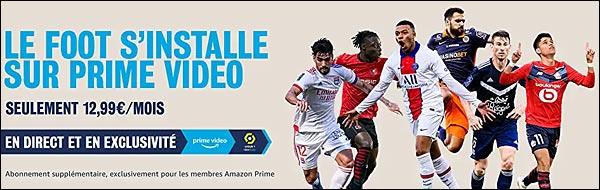 Amazon Prime Video foot Ligue 1