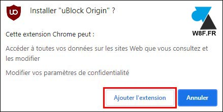 tutoriel installer uBlock Origin sur Google Chrome bloquer publicités