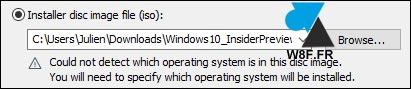 tutoriel créer machine virtuelle VMware Workstation