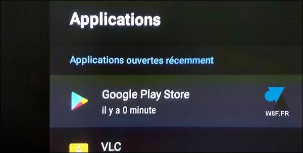 tutoriel Android TV mise à jour application