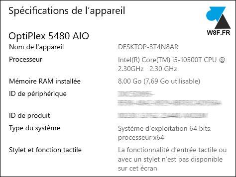test Dell OptiPlex 5480 AIO specs