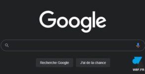 black google noir