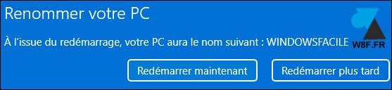 tutoriel Windows 11 changer nom ordinateur