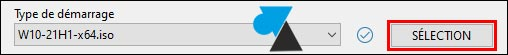 tutoriel Rufus clé usb Windows 10 11